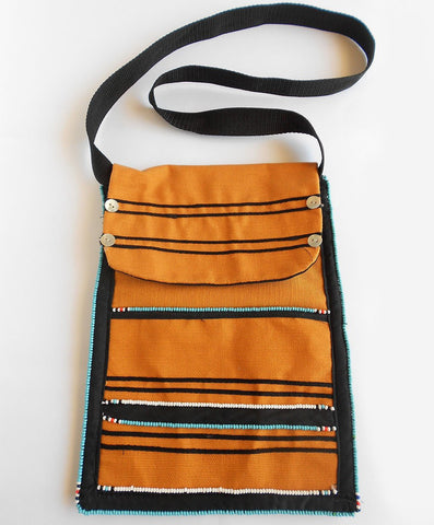 Traditional Bag with Flap, Iza Crafts, Bags- The Wild Coast Trading Company