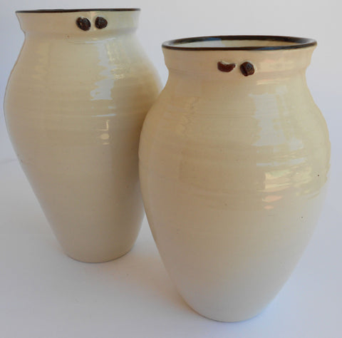 Black & White Ceramic Vases, John Steele, Vases- The Wild Coast Trading Company