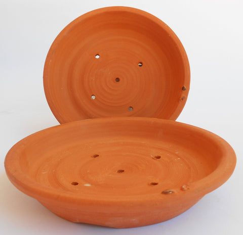Bonsai Pots - Red Clay, John Steele, Bonsai Pots- The Wild Coast Trading Company