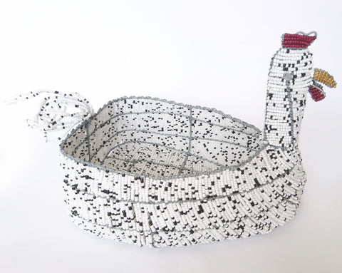 Chicken Wire Craft Egg Basket, Johnson Sithole, Egg Baskets- The Wild Coast Trading Company