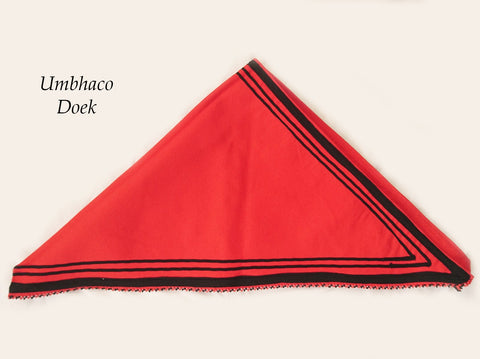 Umbhaco Triangle Doek (Head scarf)
