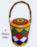 Beaded Tin Can Ibhekile