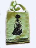 Inxili Xhosa bag with Womans Face Screenprint