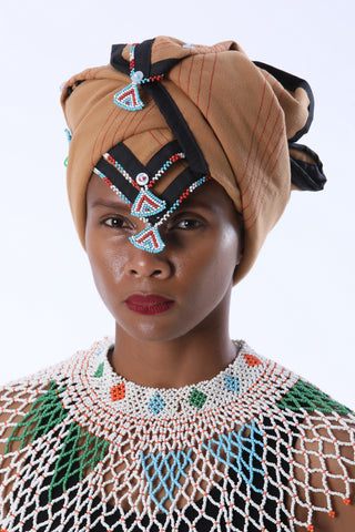 Traditional Xhosa Square Melton Doek