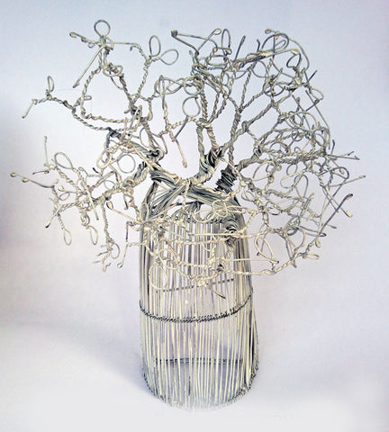 Jewellery Stand - Half Baobab Tree, The Wireman, Jewellery Stands- The Wild Coast Trading Company
