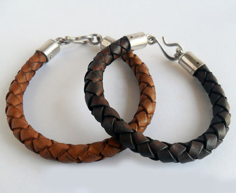 Leather Bracelet, Wild By Design, Bracelets- The Wild Coast Trading Company