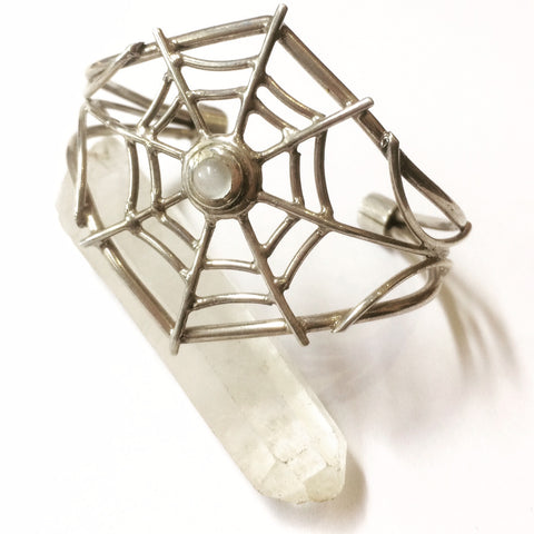 Cobweb Bangle