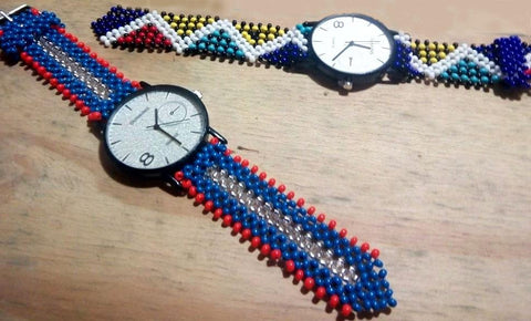 Nzwakazi Beaded Watch