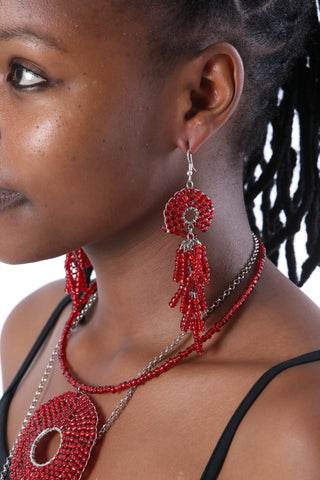 The Yolanda Beaded Earrings
