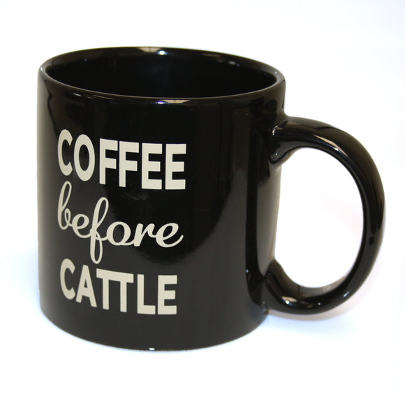Coffee Before Cattle Mug