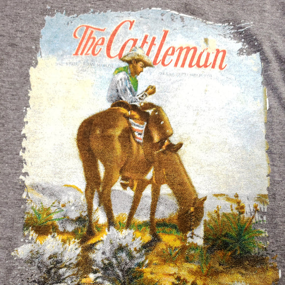 Ladies Vintage Cattleman V-Neck Shirt