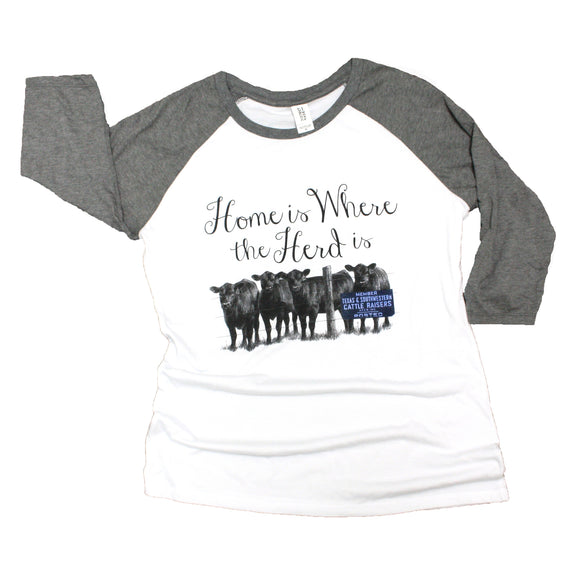 Home is Where the Herd is Ladies Shirt
