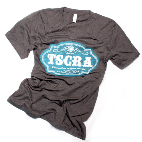 Charcoal TSCRA Ladies Emblem T-Shirt