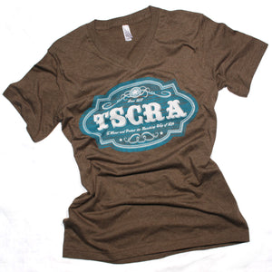 Brown TSCRA Ladies Emblem T-Shirt