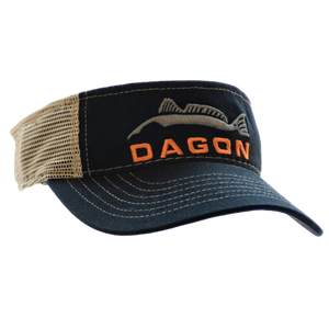 Embroidered Mesh Back Visor