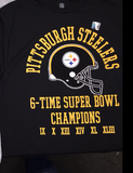 Steelers Licensed 6-Time Champions T-Shirt
