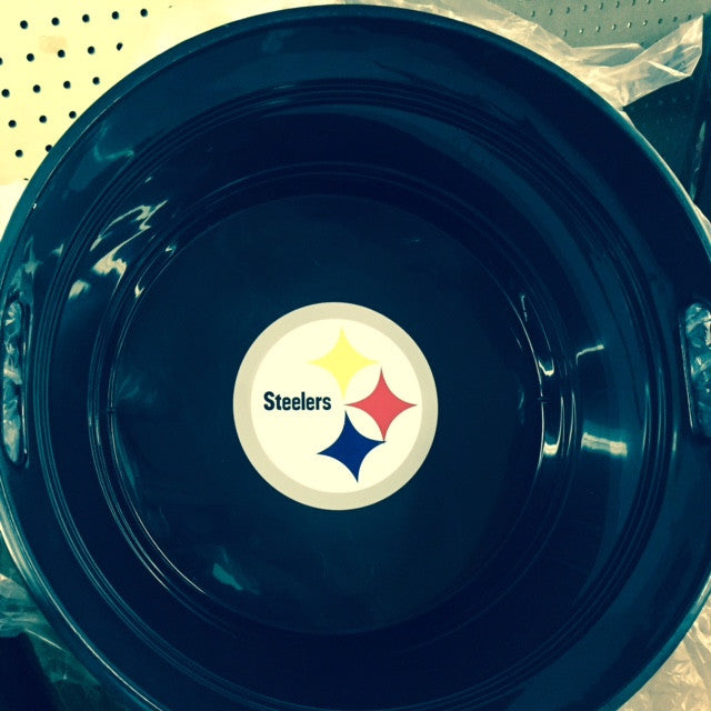 Steelers Plastic Tub
