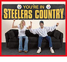 Official 8 ft Steelers Banner