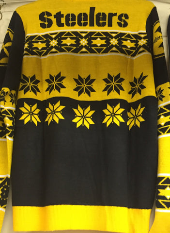 Steeler's Men's Crew Neck Sweater