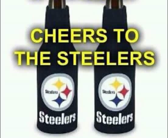 Steelers Bottle Coozies