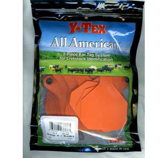 ALL AMERICAN 4 STAR TWO PIECE COW & CALF EAR TAGS (LARGE)