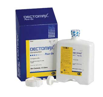 DECTOMAX® POUR-ON SOLUTION (DORAMECTIN) 2.5 LITER