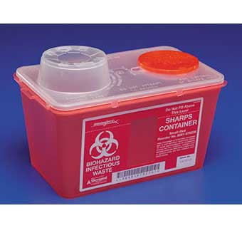 MONOJECT™ VERTICAL DROP SHARPS CONTAINERS