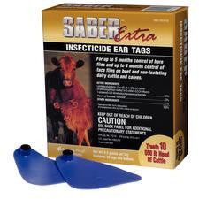 SABER EXTRA INSECTICIDE EAR TAG