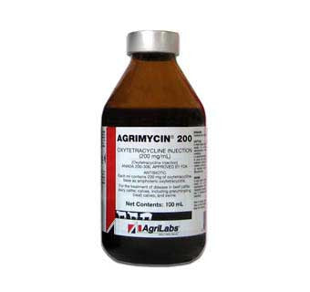 AGRIMYCIN INJECTION (OXYTETRACYCLINE) 200 MG