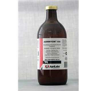 AGRIMYCIN INJECTION (OXYTETRACYCLINE) 100 MG 500 ML