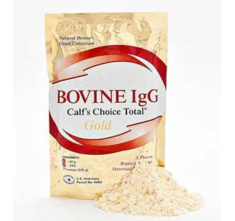 BOVINE IGG CALF'S CHOICE TOTAL® GOLD COLOSTRUM