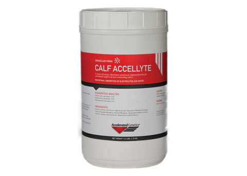 Calf Accellyte Electrolyte 3.3 lbs.
