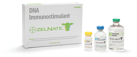 Zelnate DNA Immunostimulant for Cattle