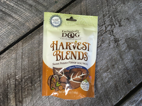Exclusively Dog Harvest Blends Sweet Potato Flavor Dog Treats, 7oz
