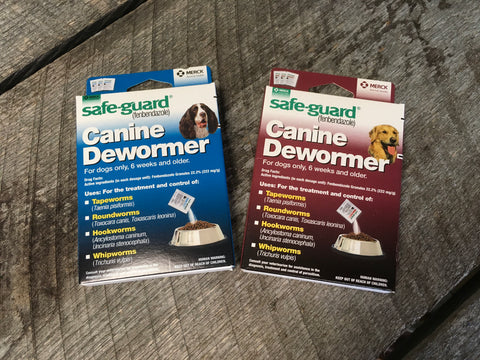 Safe-Guard® Canine Dewormer