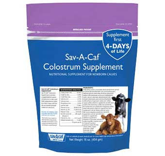 SAV-A-CAF® COLOSTRUM SUPPLEMENT
