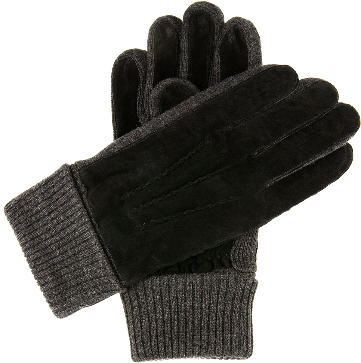 Dents - Kendal - Black/Charcoal - Apparelly Gloves