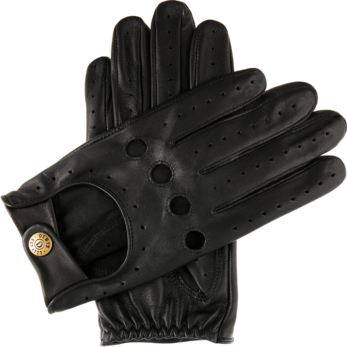 Dents Thruxton Women/'s Leather Classic Driving Gloves BERRY