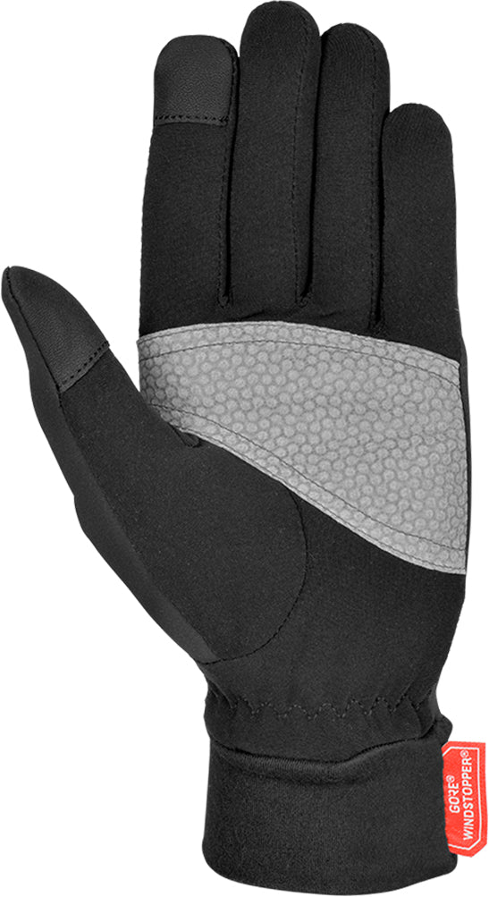 Reusch - Hike and Ride Windstopper - Black