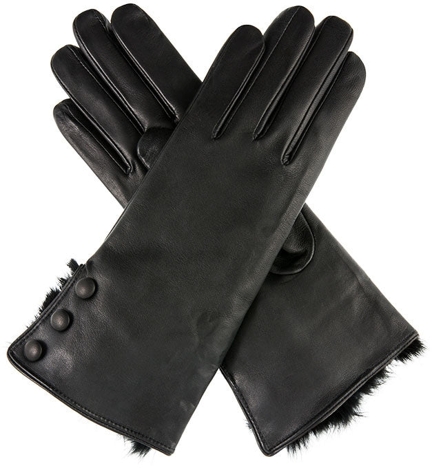 Dents - Sophie - Black - Apparelly Gloves