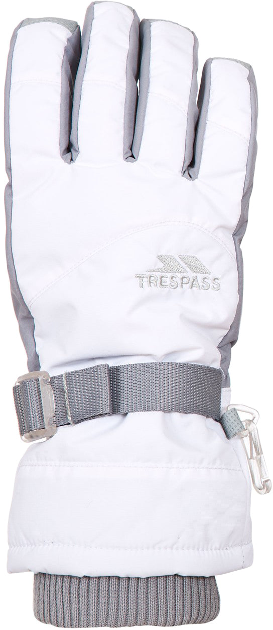 Trespass - Vizza II - White - Apparelly Gloves