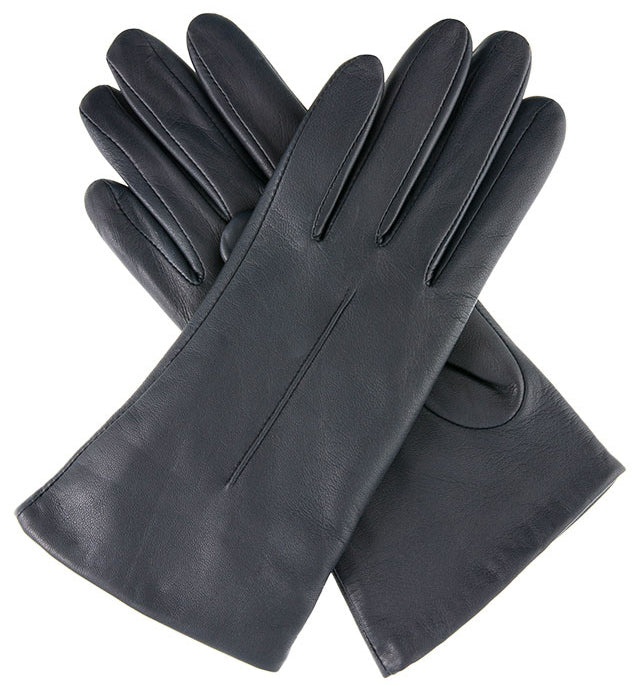 Dents - Poppy - Black - Apparelly Gloves