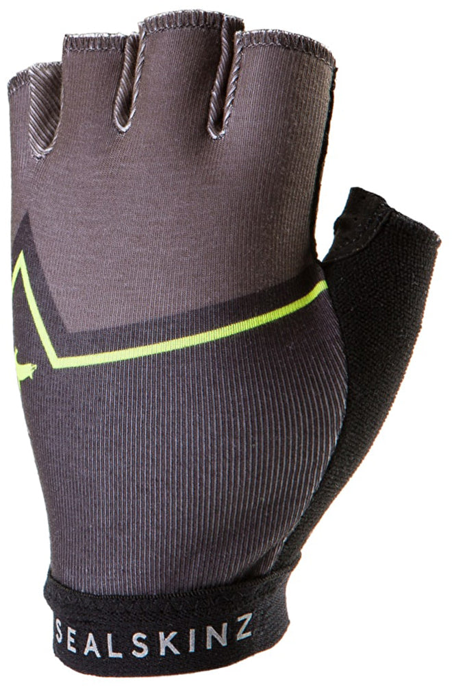 Sealskinz - Women's Stelvio Fingerless - Yellow/Black