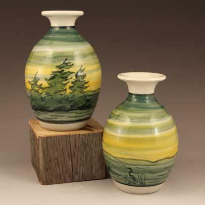 Small Dawn Pattern Vase