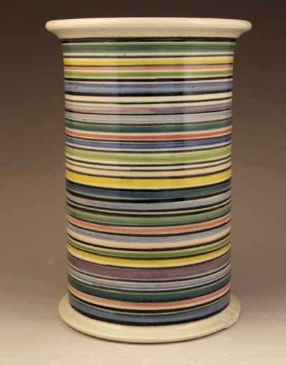 Canister Vase in Stripes