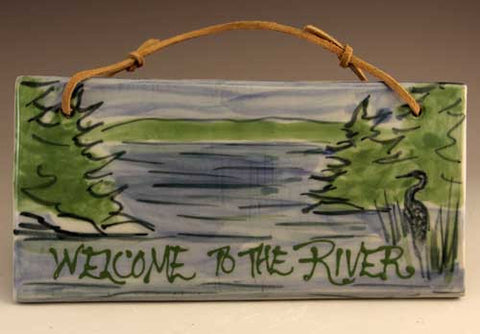 Welcome to the River tile