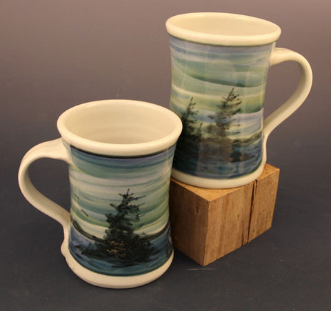 Medium Mugs in Twilight Pattern