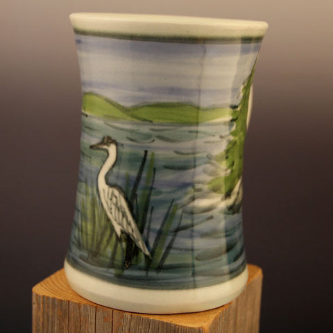 Medium Mugs Dock Day Heron