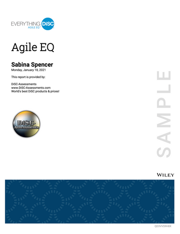 Everything DiSC Agile EQ™ PROFILE