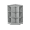 RiverRidge Home Kids Corner Cabinet in Gray 02-145